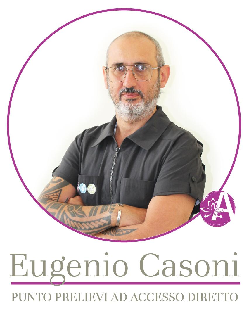 Eugenio Casoni - Punto Prelievi ad accesso diretto