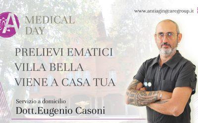 Prelievi ematici: Villa Bella viene a casa tua!