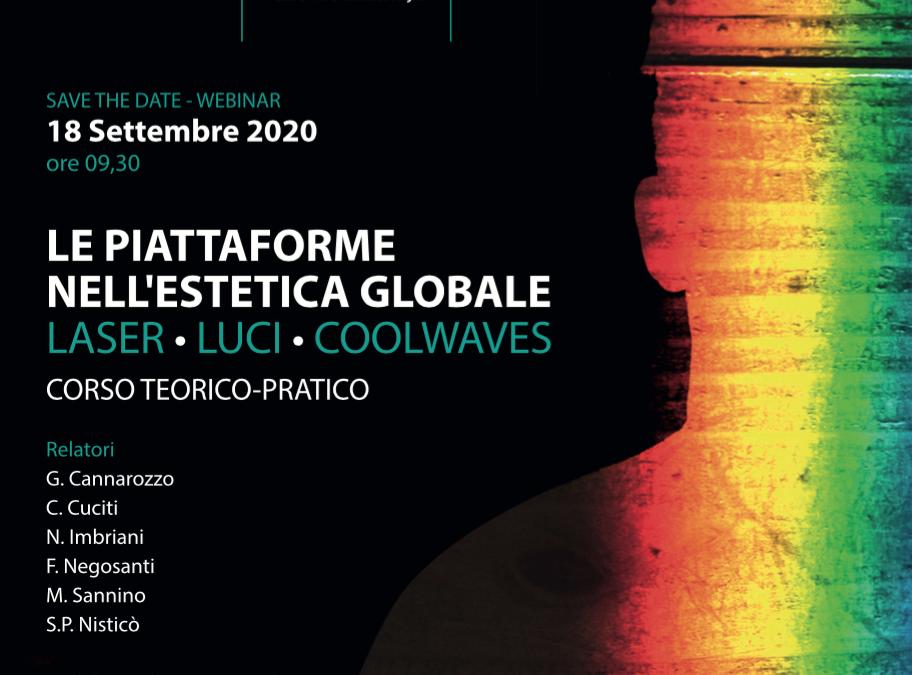 Le piattaforme nell'estetica globale: LASER- LUCI – COOLWAVES