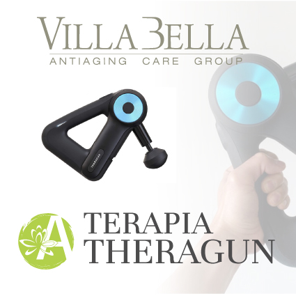 Terapia a percussione con Theragun