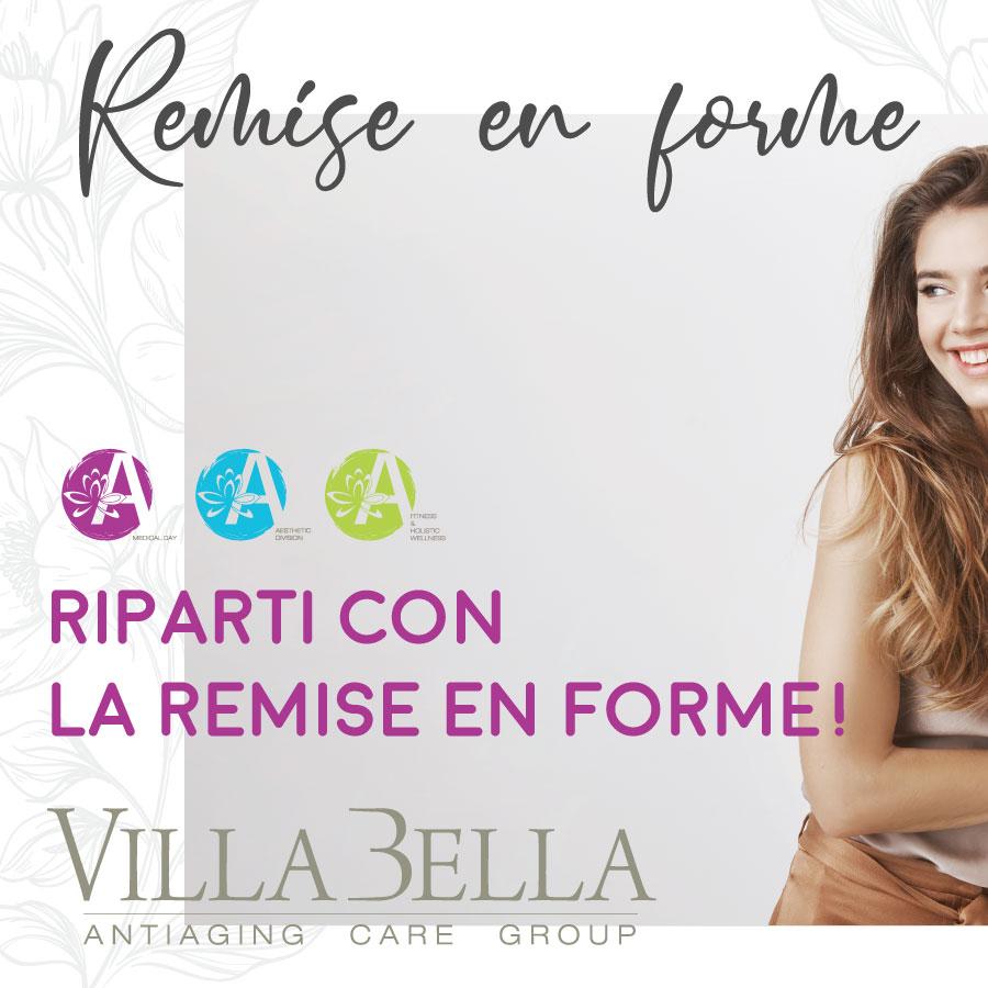 remise en forme con Villa Bella