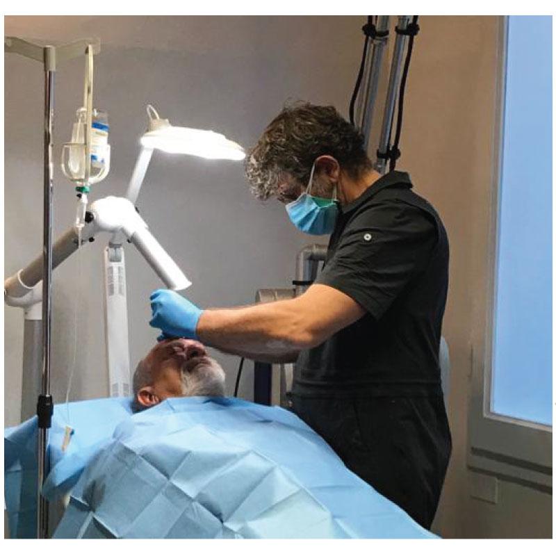 trattamento laser del rinofima
