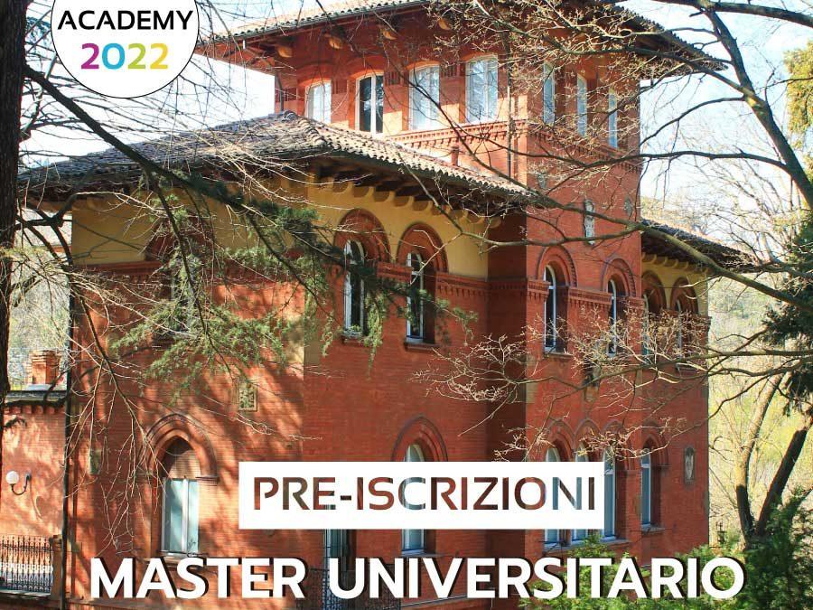 PRE-ISCRIZIONI MASTER UNIVERSITARIO II° LIVELLO